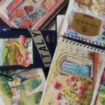 Watercolor journals, Art Journaling Watercolor Tips