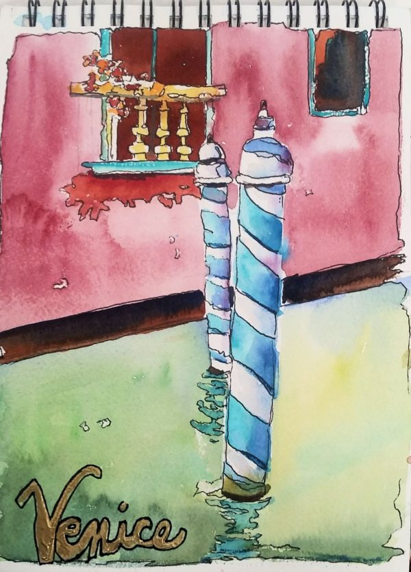 Watercolor art painting workshops | Jacqueline Newbold | newboldart