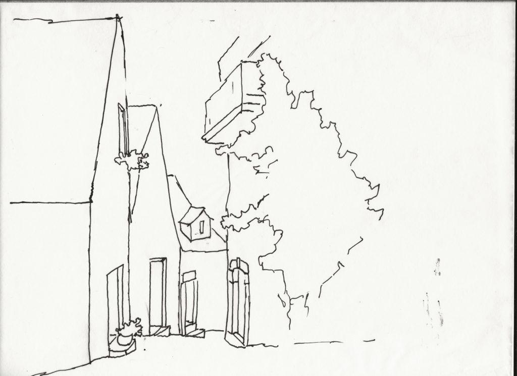 Dordogne sketch