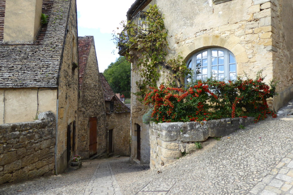 Quaint Village in the Dordogne, France